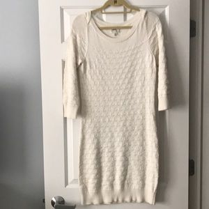 Milly white sweater dress